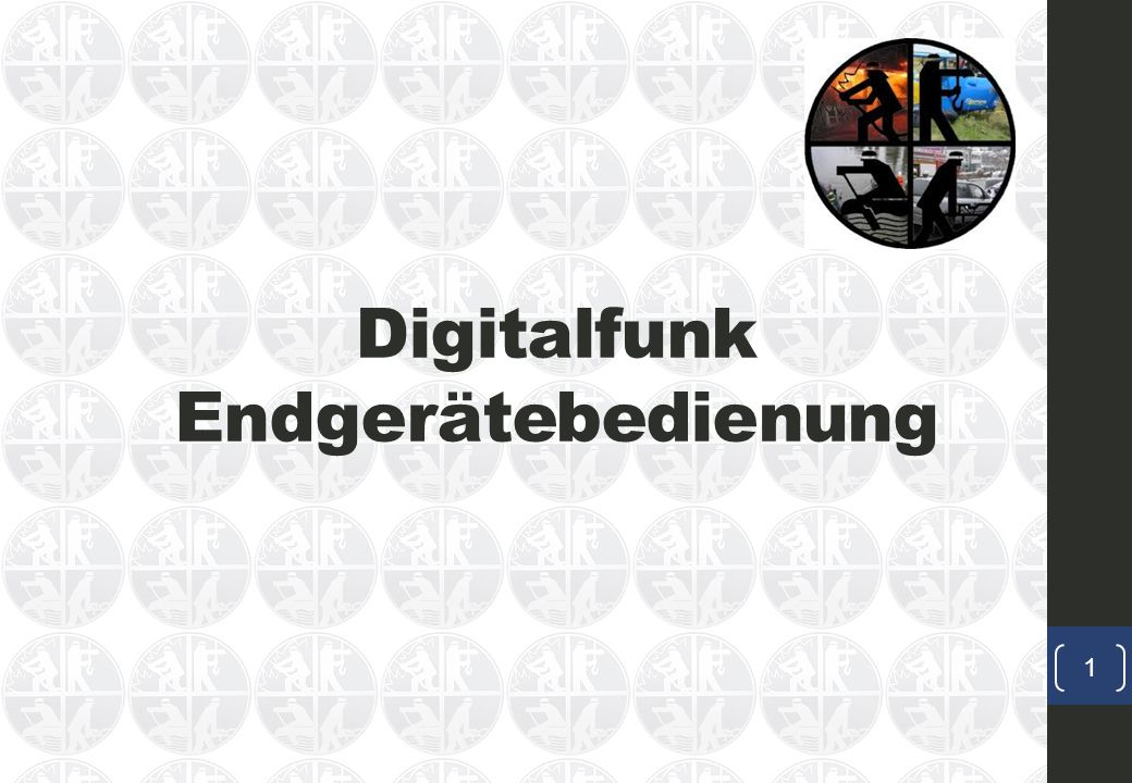Digitalfunk Endgerätebedienung
