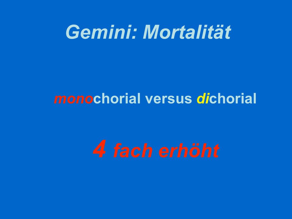 monochorial versus dichorial