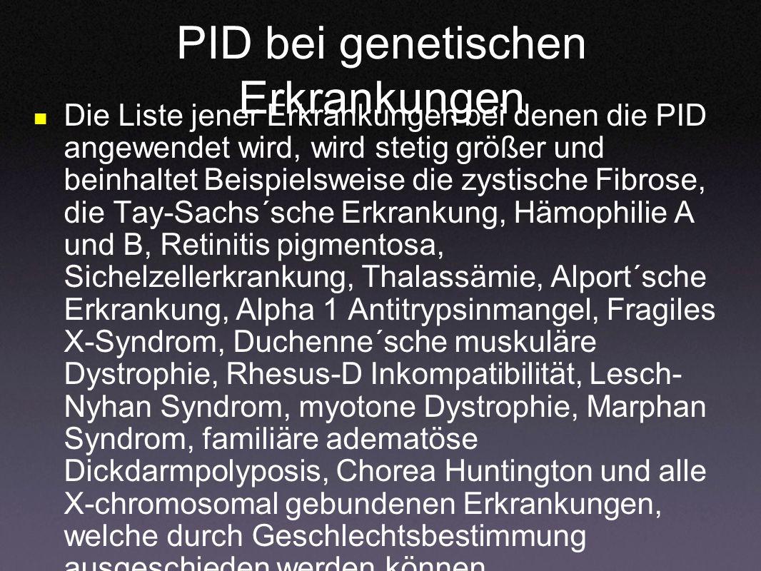 PID bei genetischen Erkrankungen