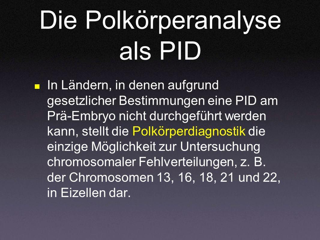 Die Polkörperanalyse als PID