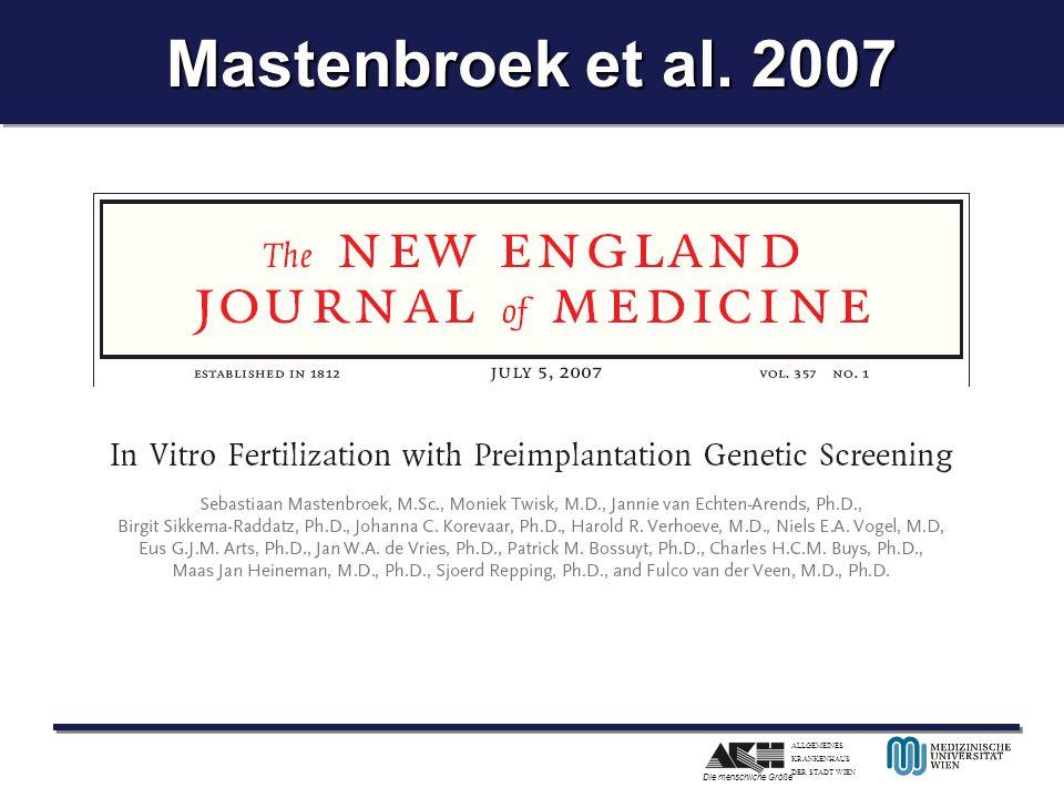 Mastenbroek et al. 2007