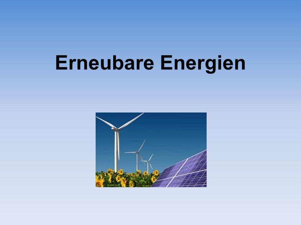 Erneubare Energien