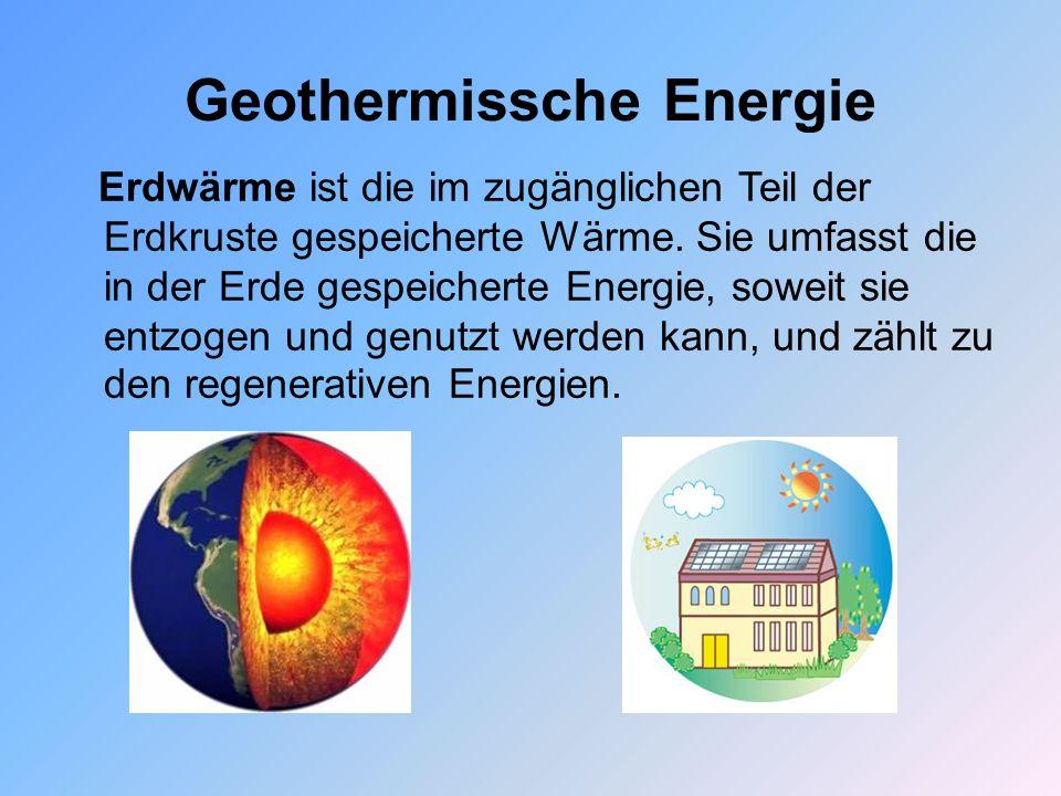 Geothermissche Energie