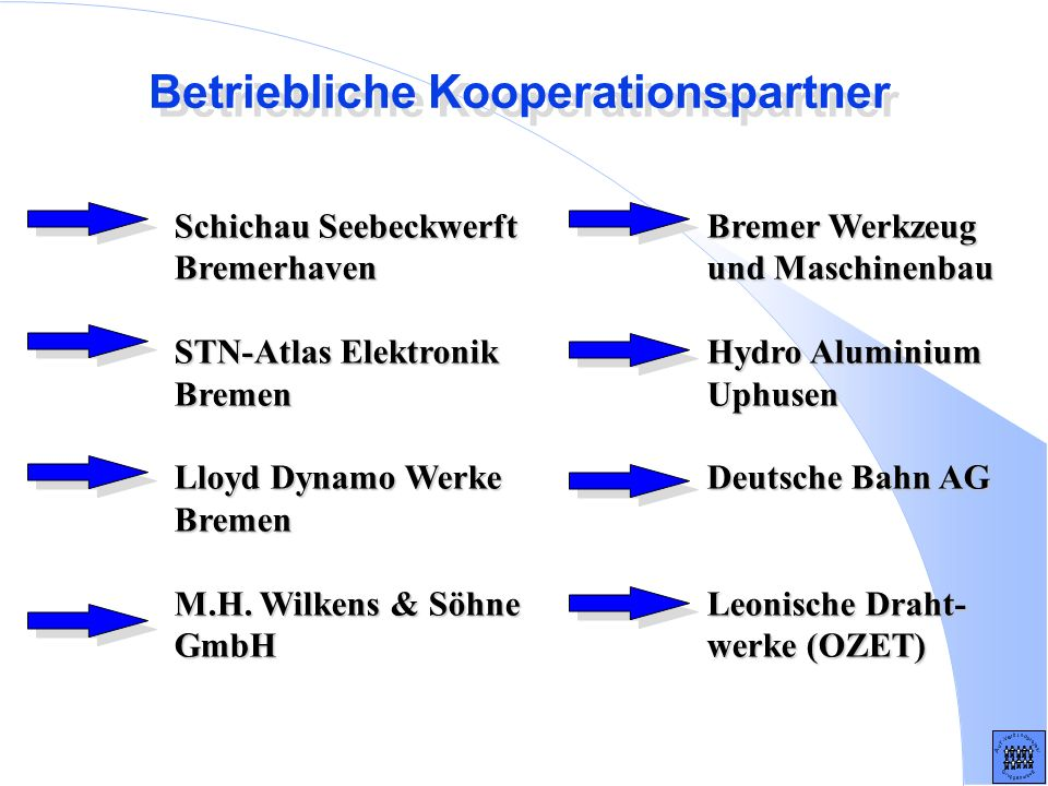 Betriebliche Kooperationspartner
