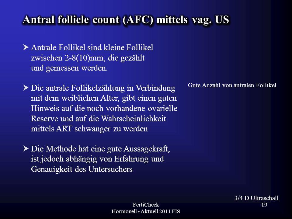 FertiCheck Hormonell - Aktuell 2011 FIS