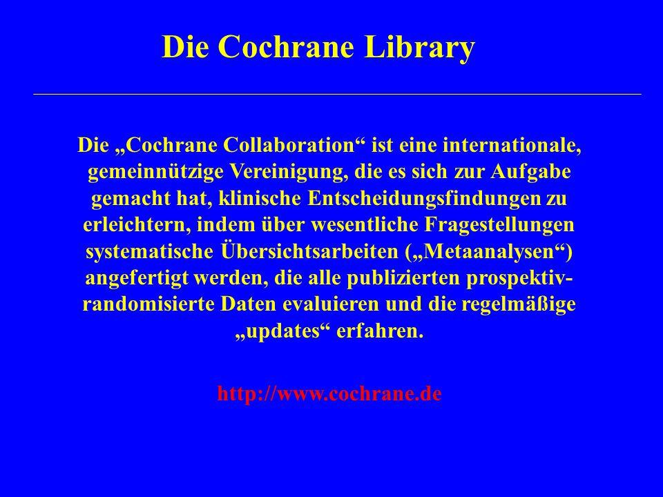 Die Cochrane Library