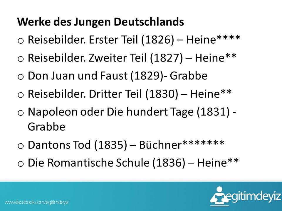 Werke des Jungen Deutschlands