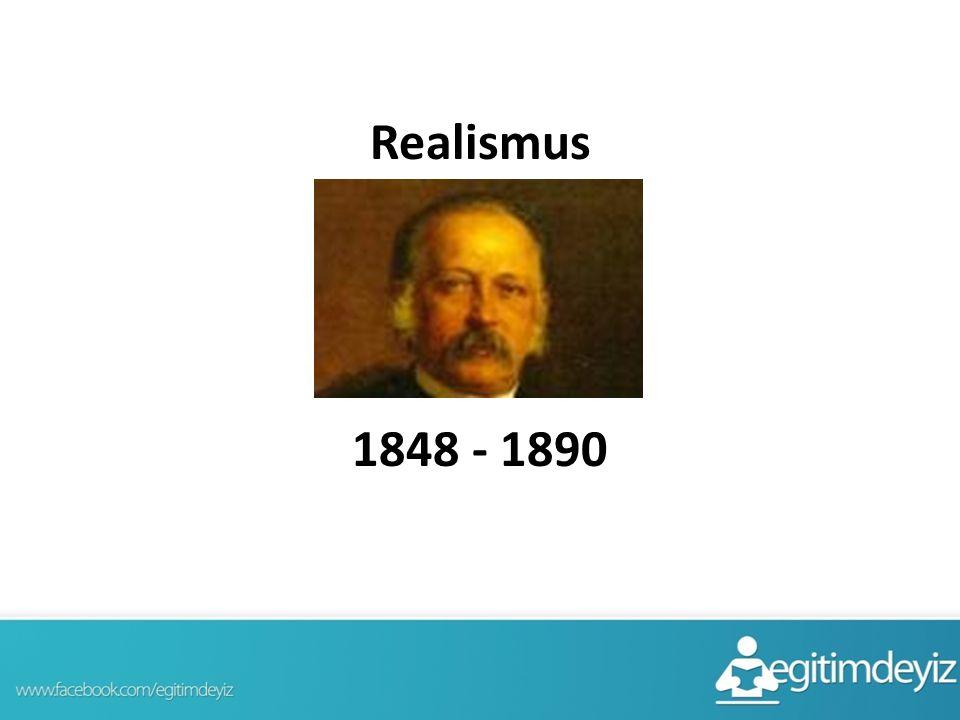 Realismus 1848 - 1890
