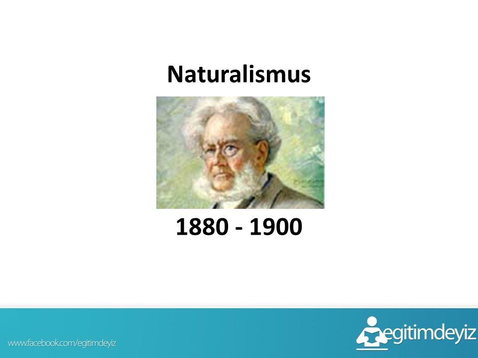 Naturalismus 1880 - 1900