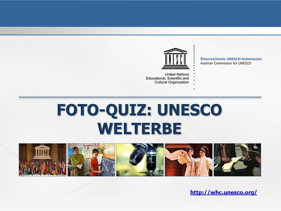 Foto-Quiz: Unesco Welterbe