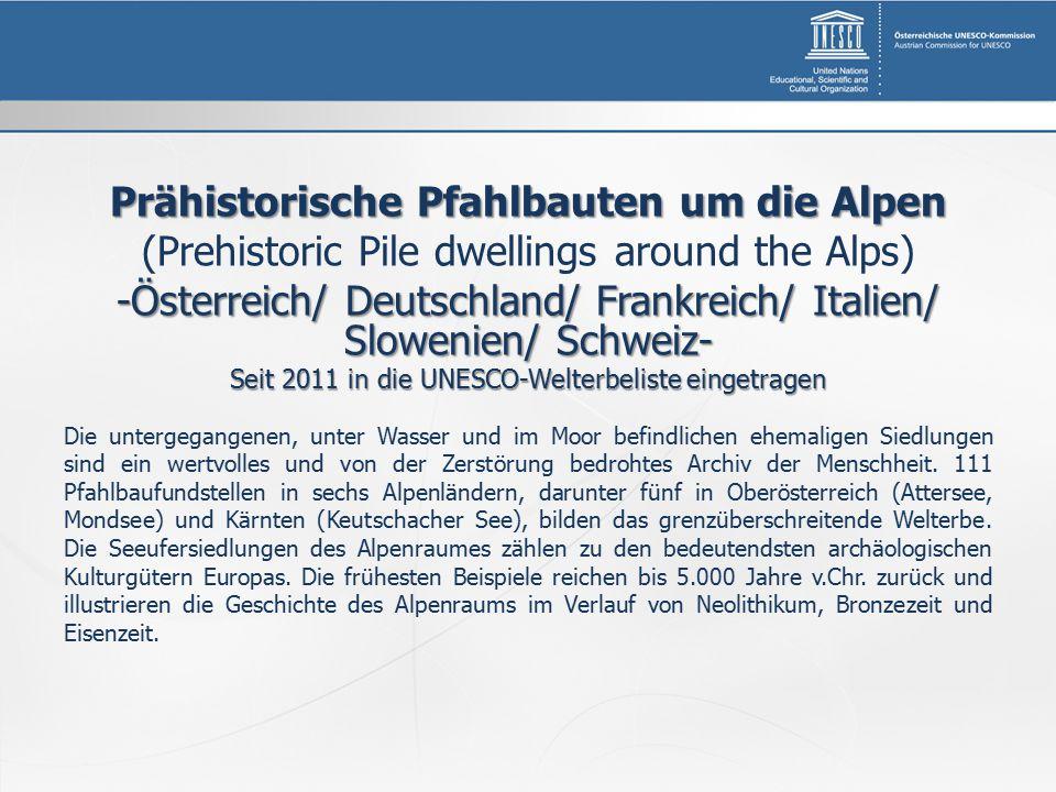 Prähistorische Pfahlbauten um die Alpen