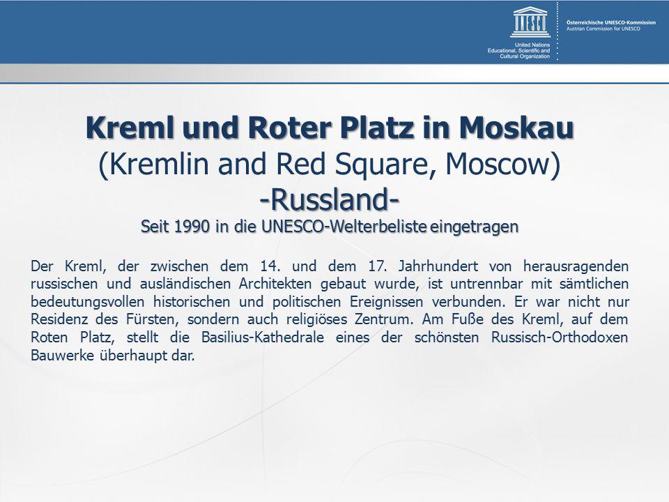 Kreml und Roter Platz in Moskau