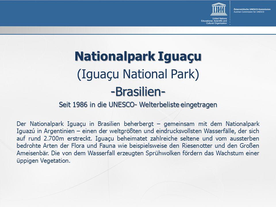 (Iguaçu National Park) -Brasilien-