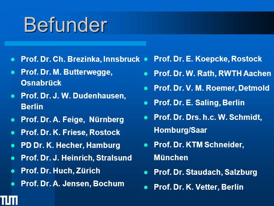 Befunder Prof. Dr. E. Koepcke, Rostock