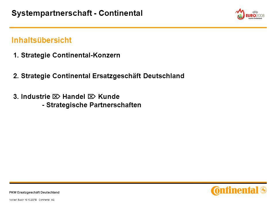 Systempartnerschaft - Continental
