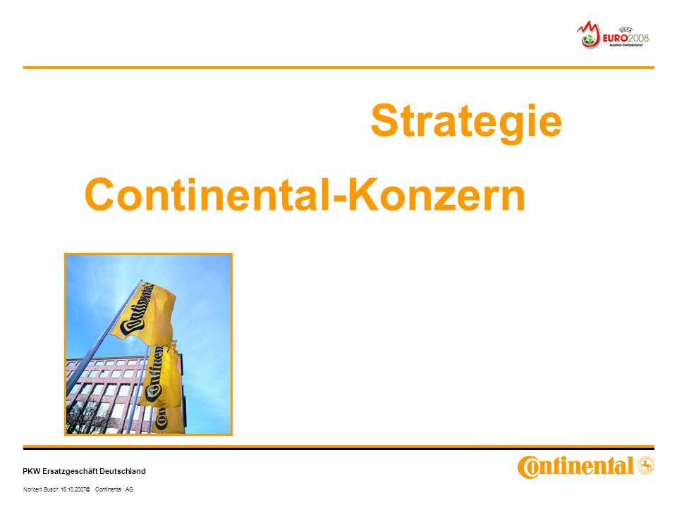Strategie Continental-Konzern