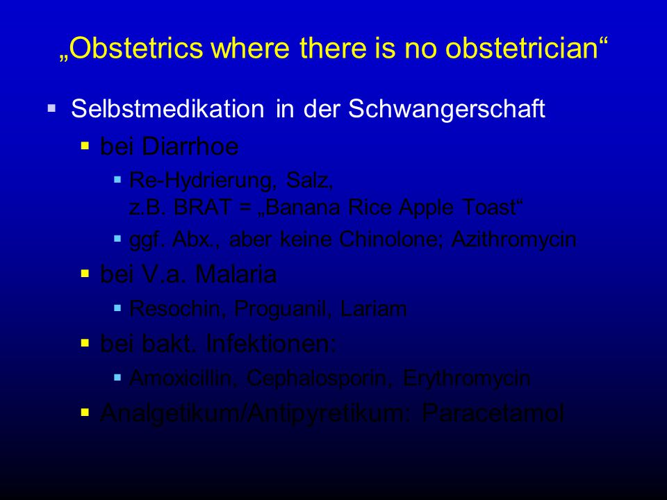 """Obstetrics where there is no obstetrician"