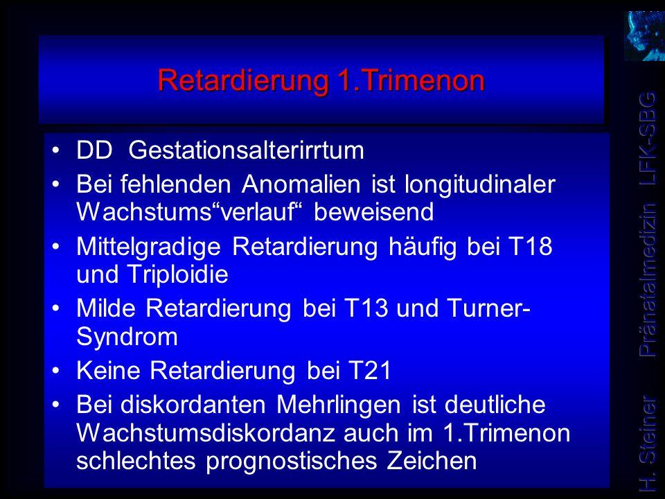 Retardierung 1.Trimenon