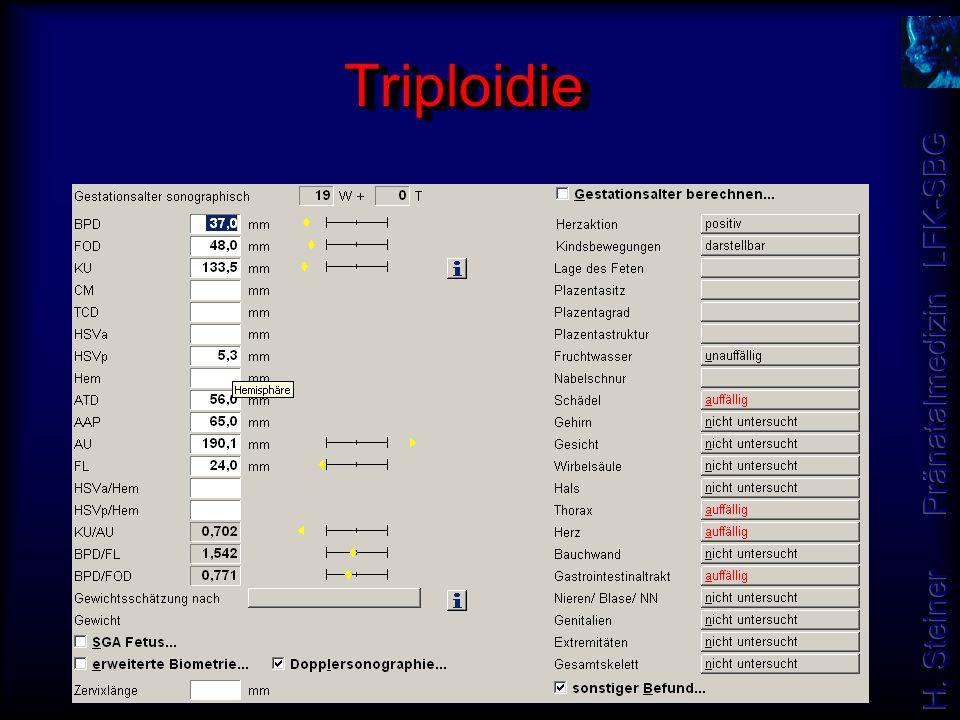 Triploidie