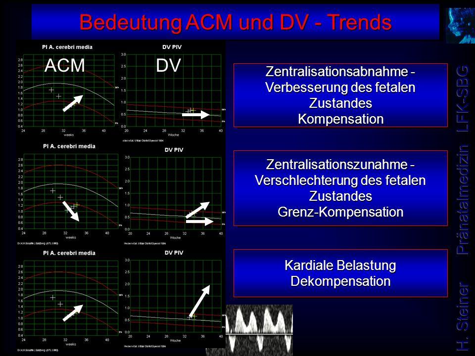 Bedeutung ACM und DV - Trends