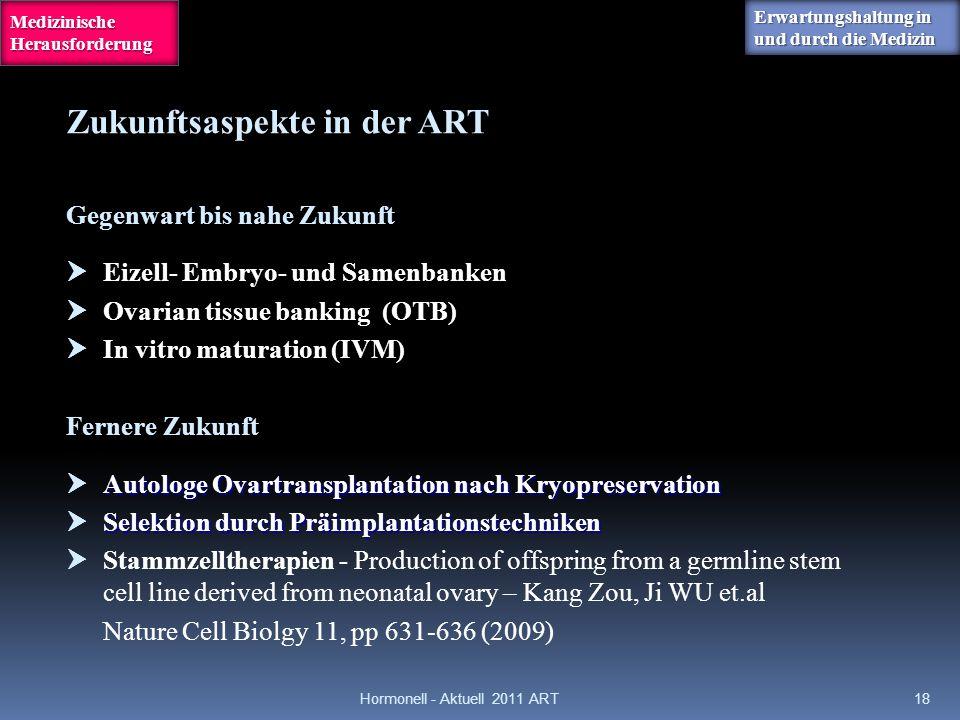 Hormonell - Aktuell 2011 ART