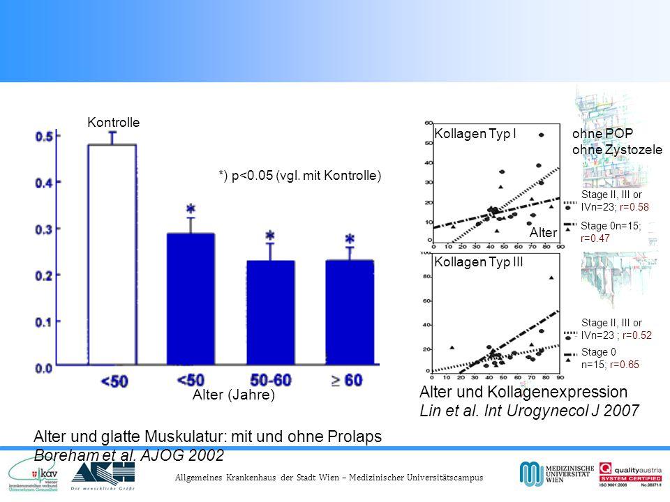 Abnahme der Muskulatur im Alter im vorderen Kompartiment