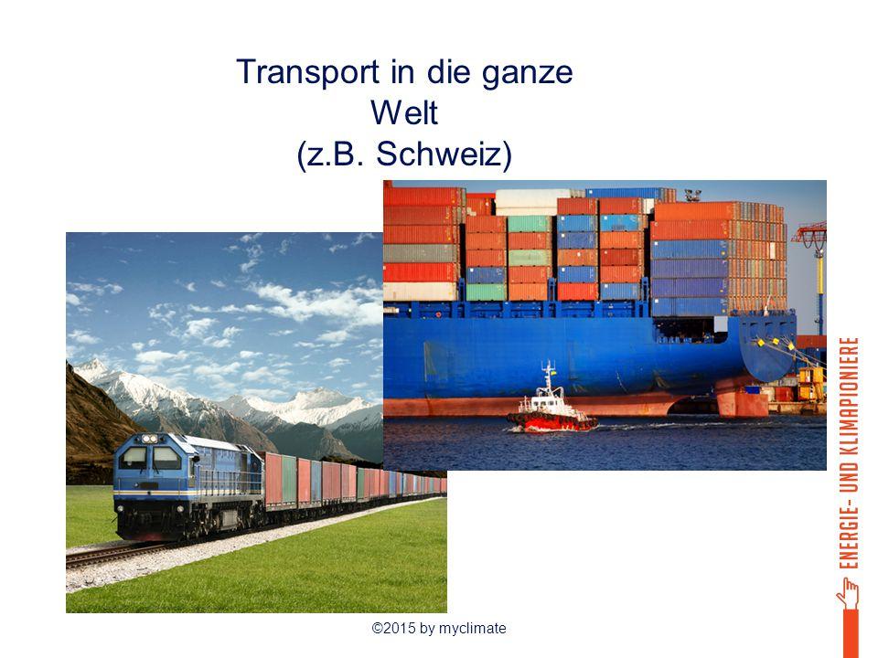 Transport in die ganze Welt