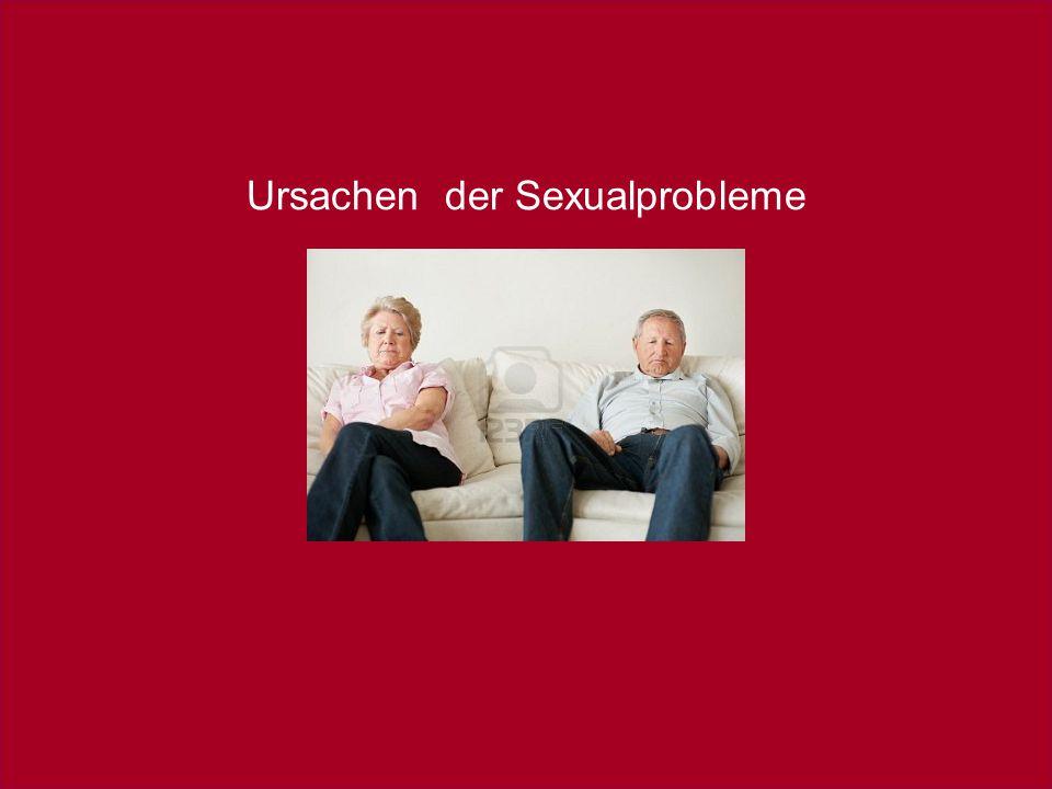 Ursachen der Sexualprobleme