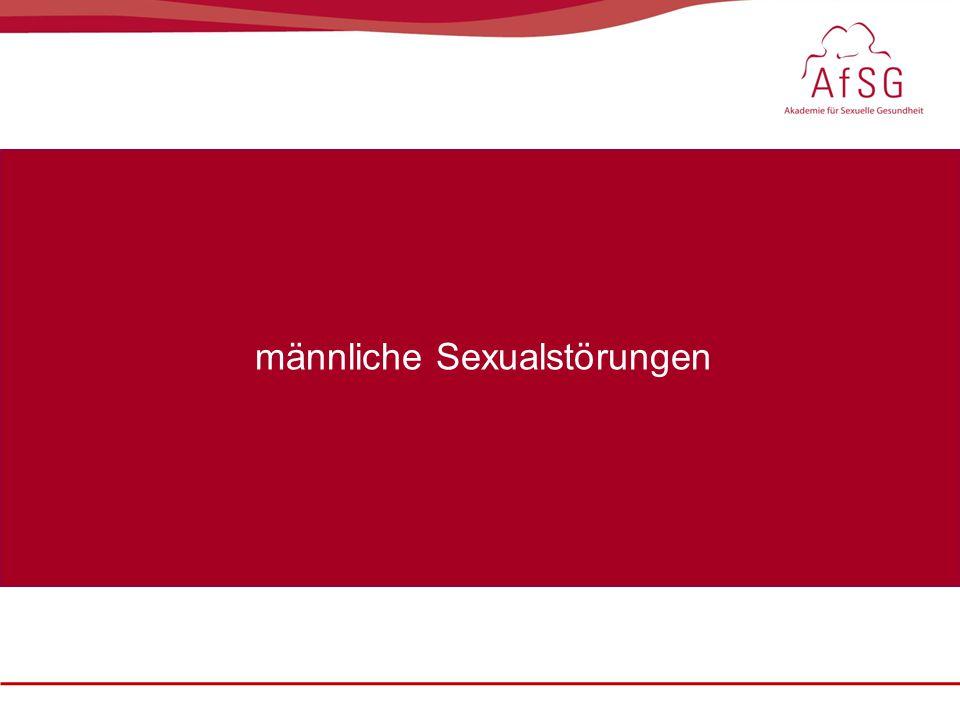 männliche Sexualstörungen