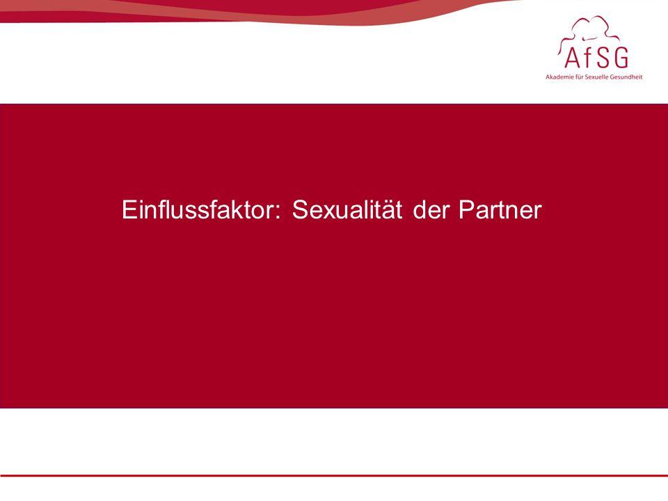 Einflussfaktor: Sexualität der Partner