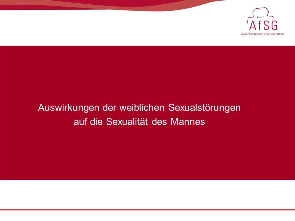 Auswirkungen der weiblichen Sexualstörungen