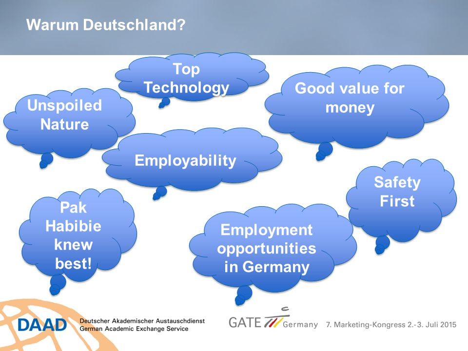 Employment opportunities in Germany