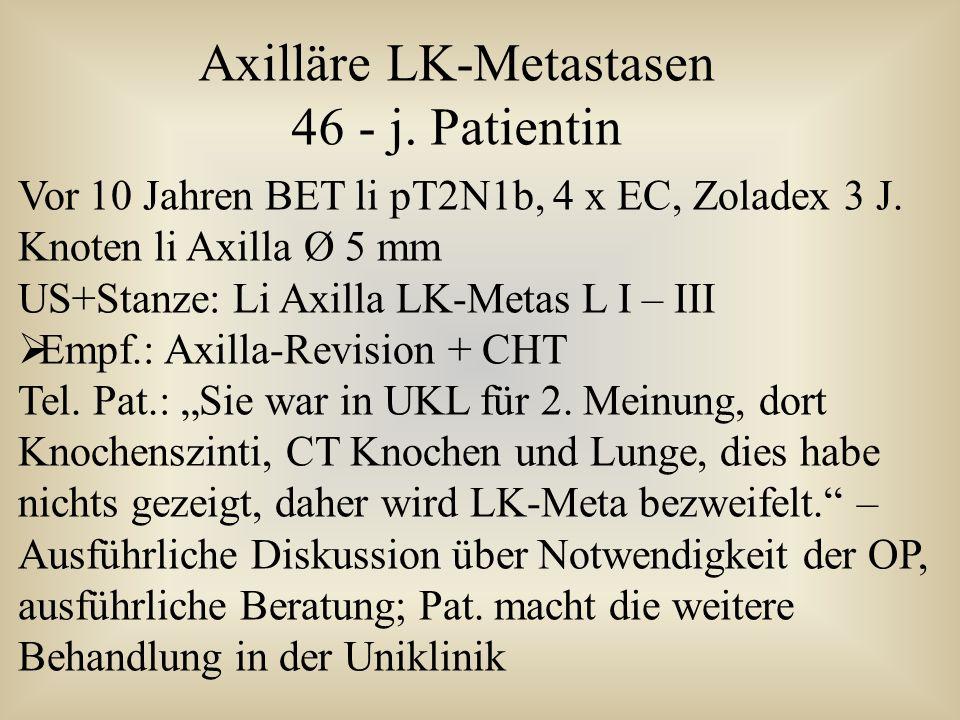 Axilläre LK-Metastasen