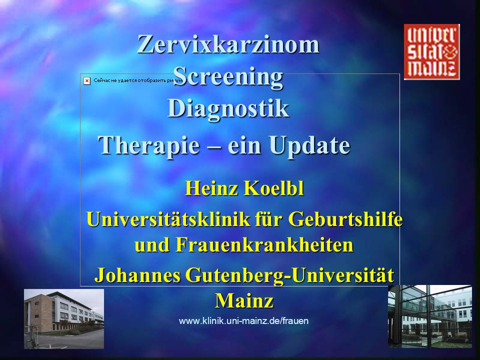 Zervixkarzinom Screening Diagnostik Therapie – ein Update