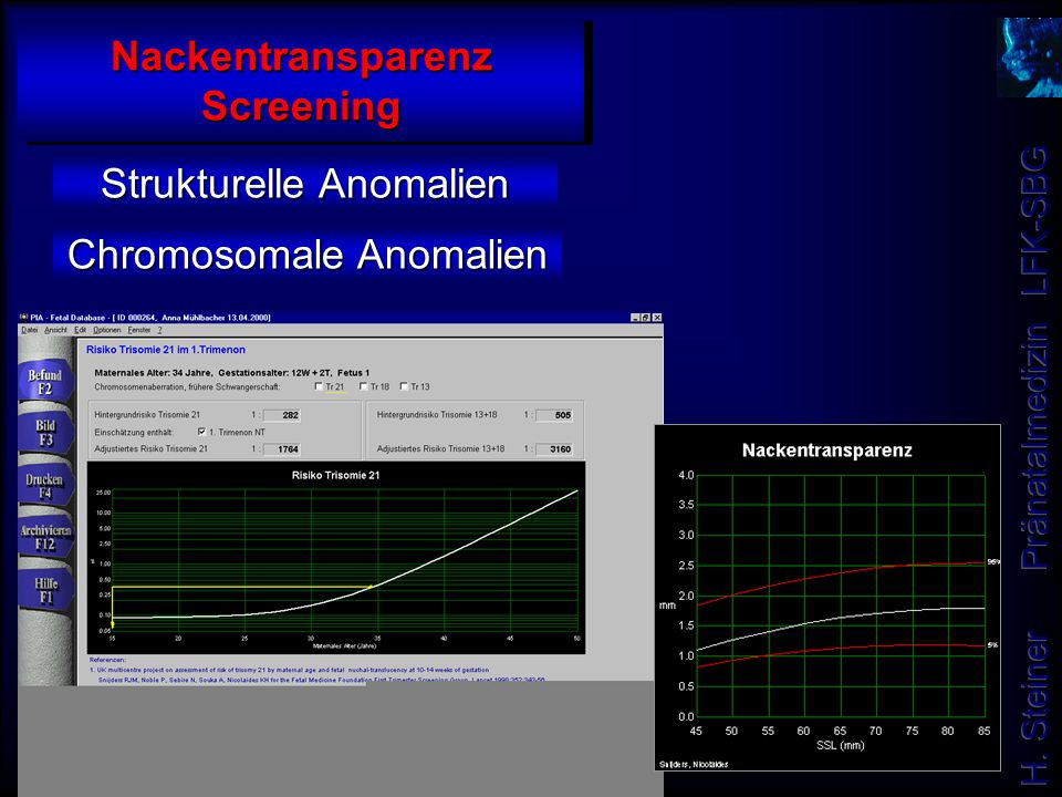 Nackentransparenz Screening