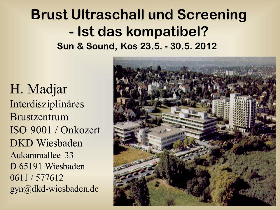 Brust Ultraschall und Screening