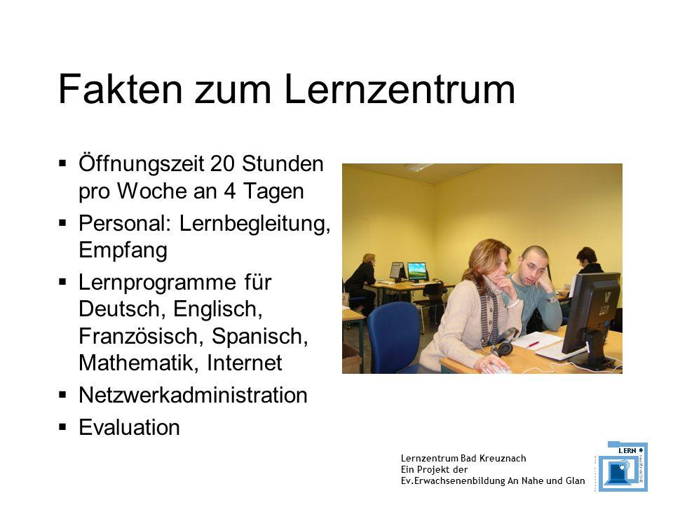 Fakten zum Lernzentrum
