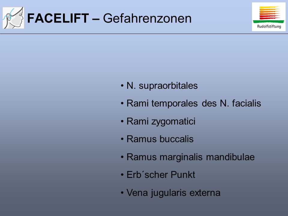 FACELIFT – Gefahrenzonen