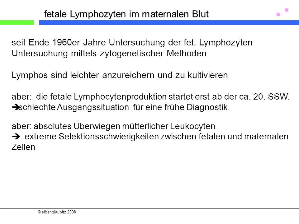 fetale Lymphozyten im maternalen Blut