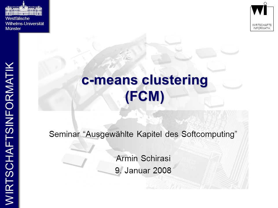 c-means clustering (FCM)