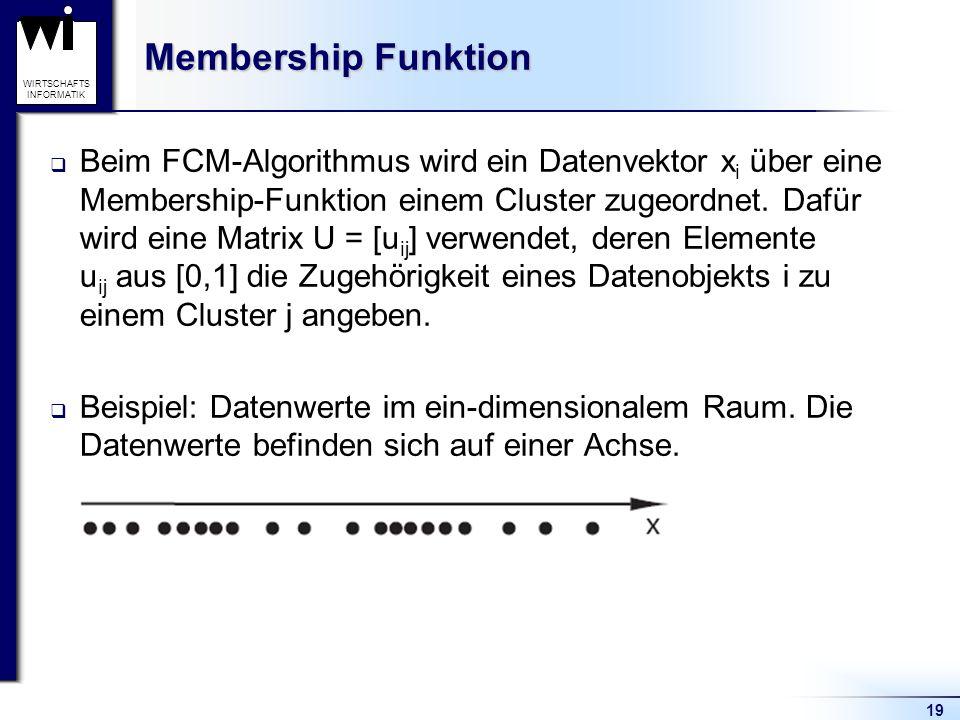 Membership Funktion
