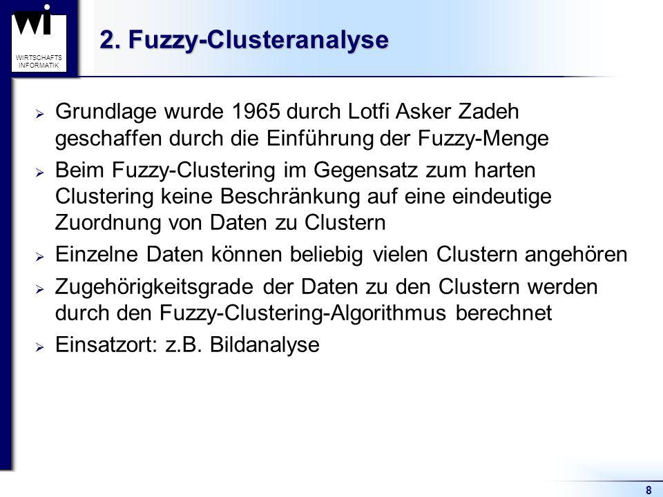 2. Fuzzy-Clusteranalyse