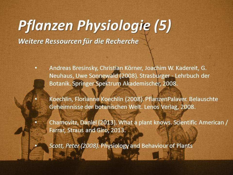 Pflanzen Physiologie (5)