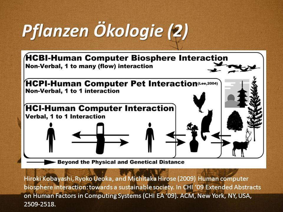 Pflanzen Ökologie (2)