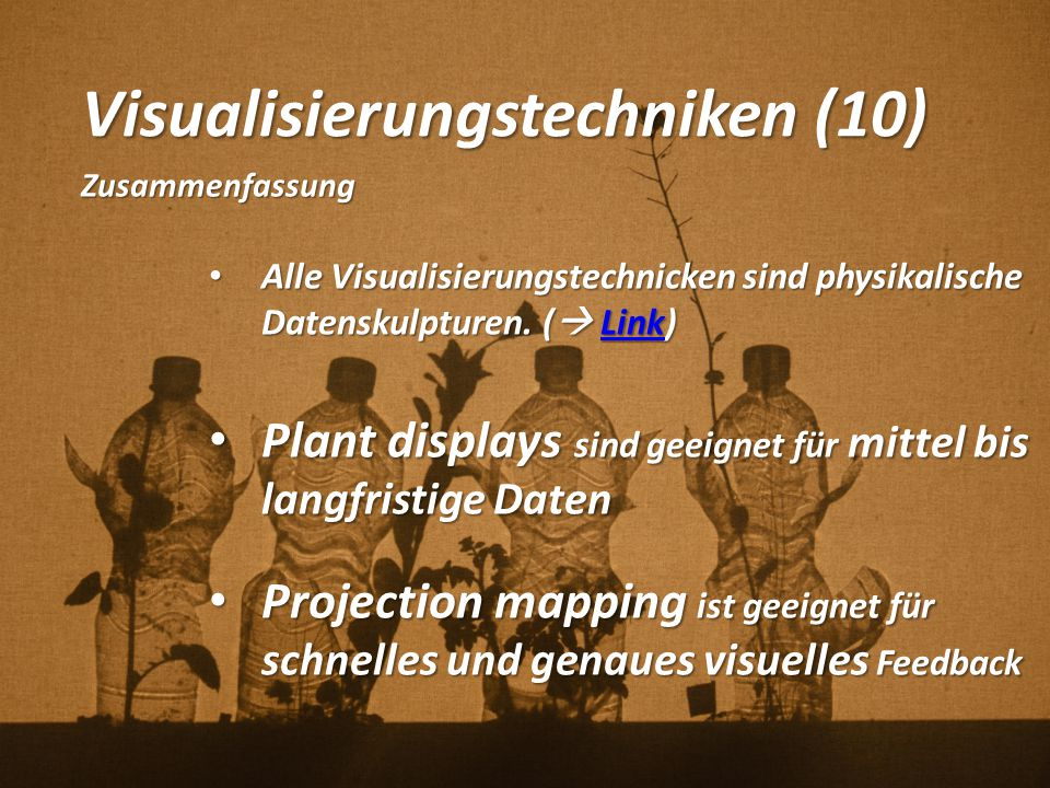 Visualisierungstechniken (10)