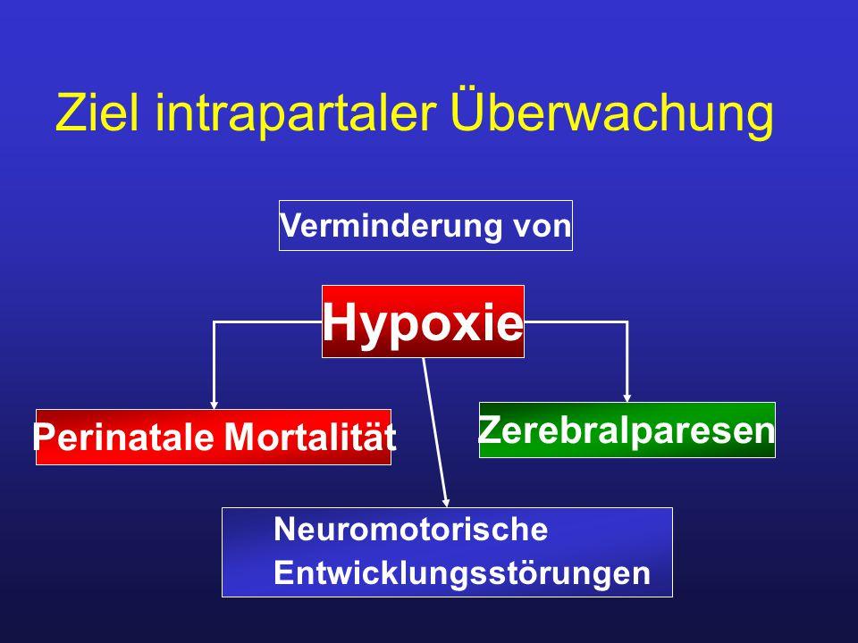 Ziel intrapartaler Überwachung