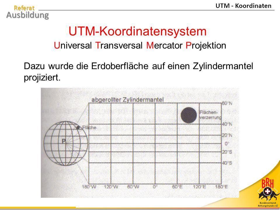 UTM-Koordinatensystem