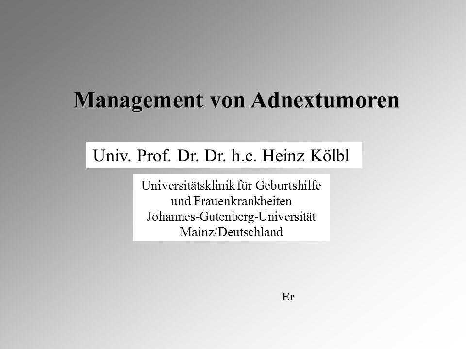 Management von Adnextumoren