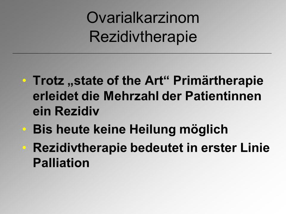 Ovarialkarzinom Rezidivtherapie