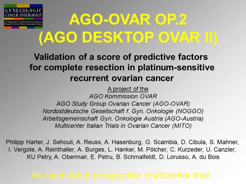 AGO-OVAR OP.2 (AGO DESKTOP OVAR II)
